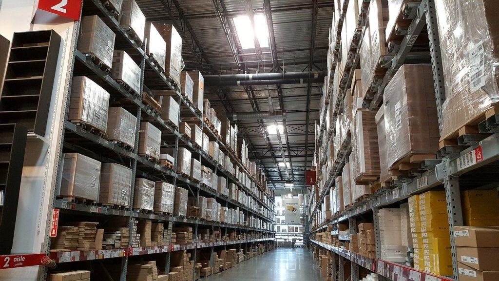 ikea, warehouse, industrial